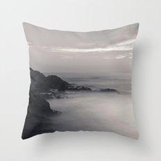 Martian Beach Throw Pillow