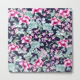 Floral Pattern 1 Metal Print