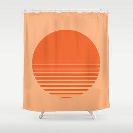 Sunrise/ Sunset Horizon Lines Shower Curtain