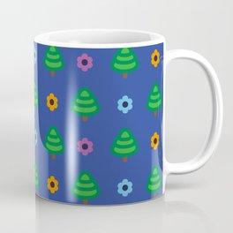 Trees and flowers pattern Coffee Mug