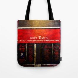 Alex's Tavern, Memphis Tote Bag