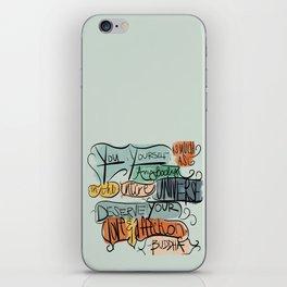 Love & Affection iPhone Skin