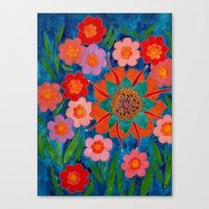 Saturnina Canvas Print