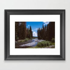 Hope is a River Framed Art Print