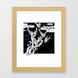 Catch Love Framed Art Print
