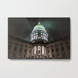 Wisconsin Capitol Building Metal Print