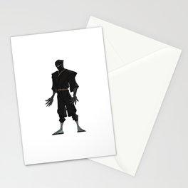 Deadly Ninja Assassin Stationery Cards