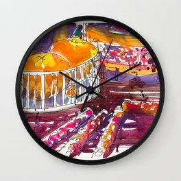 20170131 Chinese New Year Doodle Wall Clock