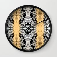 baroque Wall Clocks featuring Baroque by Monike Meurer