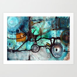 Joining The Dots Art Print