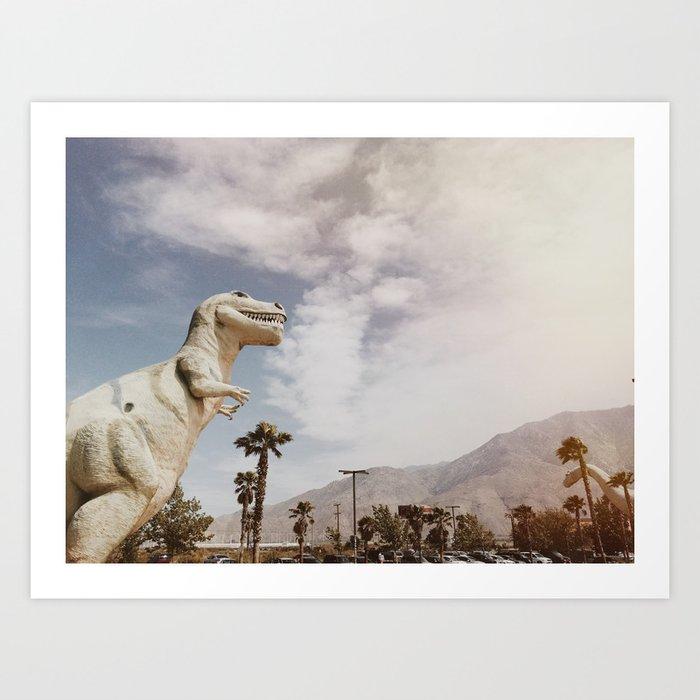 Pee Wee's Dinosaurs Kunstdrucke