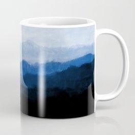Mists - Blue Coffee Mug