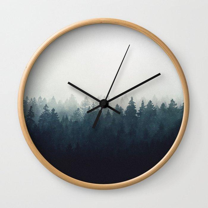 A Wilderness Somewhere Wall Clock
