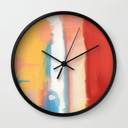 Warm feeling Wall Clock