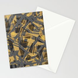 abstract print Stationery Cards