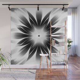 Dark Starburst Wall Mural