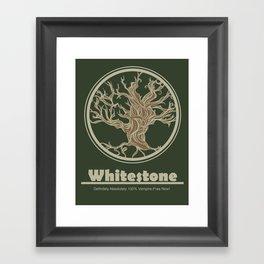 Whitestone Framed Art Print