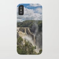 geology iPhone & iPod Cases featuring Beautiful Barron Falls by Wendy Townrow