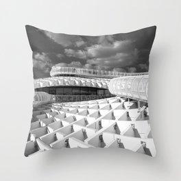 To the top of MetroPolParasol Throw Pillow