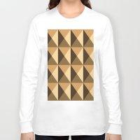 copper Long Sleeve T-shirts featuring Copper by Fernanda Fattu