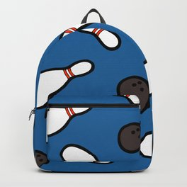 Bowling for Pins Pattern Backpack