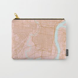 Philadelphia map Carry-All Pouch
