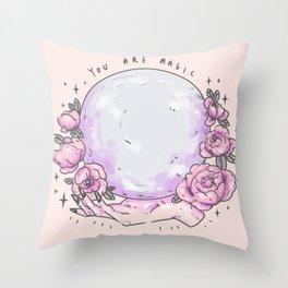 you are magic - pt3 Throw Pillow