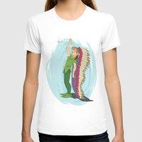peter pan T-shirts featuring Peter Pan by LarissaKathryn