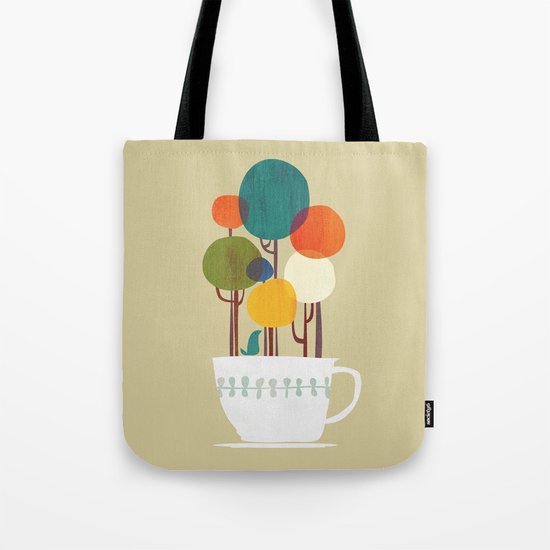 Life in a cup Tote Bag