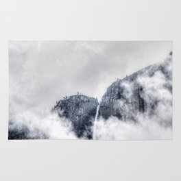 Fog and clouds Rug