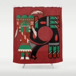 Visions Of Hopi Shower Curtain