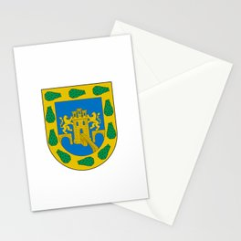 flag of mexico city Stationery Cards