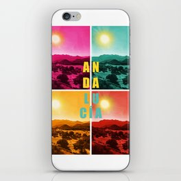 Colorful Andalusia iPhone Skin