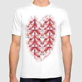 yo amo la música T-shirt