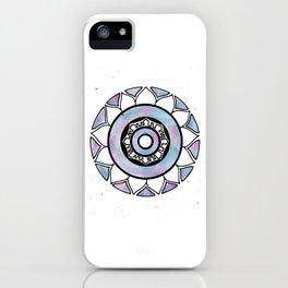 Watercolor Mandala iPhone Case