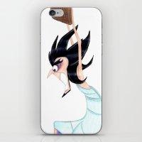 hercules iPhone & iPod Skins featuring Artist from Hercules by Sierra Christy Art