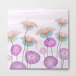 Weird Blooms Metal Print