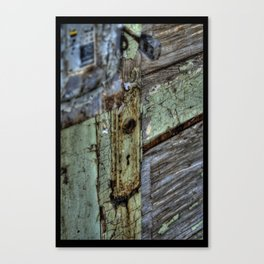 Painted Door Canvas Print