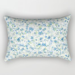 Butterfly's in a Spring Garden Rectangular Pillow