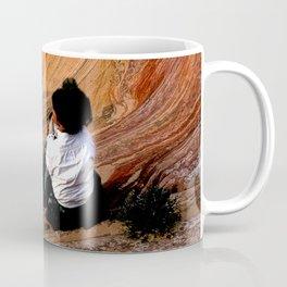 Sitting In Solitude Coffee Mug