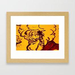 Strreeettt cred  Framed Art Print
