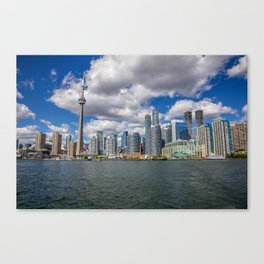Toronto, Ontario, Canada (Beautiful Skyline of Toronto during the day) Canvas Print
