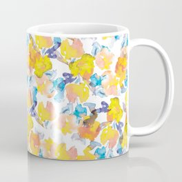 Floral Watercolor Pattern designed by #Mahsawatercolor Coffee Mug