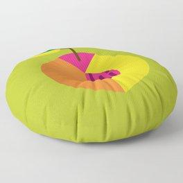 Fruit: Peach Floor Pillow