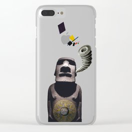 Listening to the Cosmos Clear iPhone Case