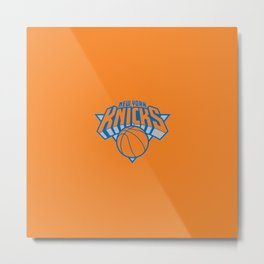 KNICKS NBA Metal Print