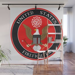 Firefighter Symbol Wall Mural