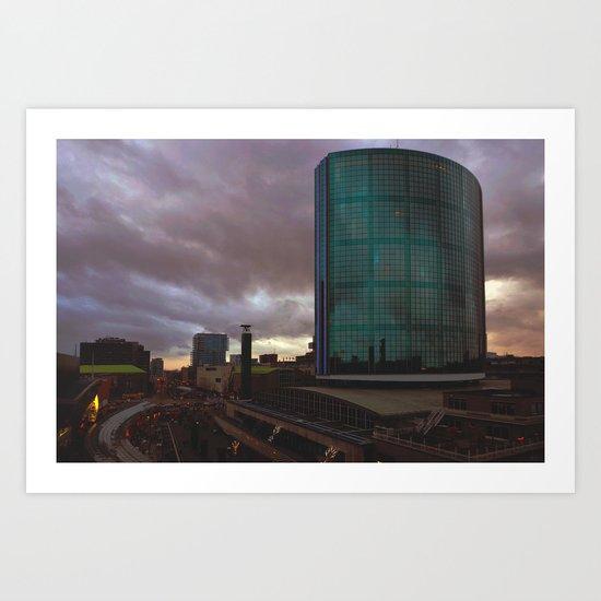WTC Rotterdam Art Print