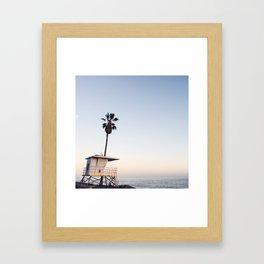 OC Sunset  Framed Art Print