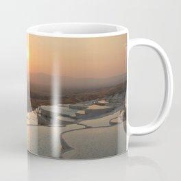 The white pools of Pamukkale, Turkey Coffee Mug